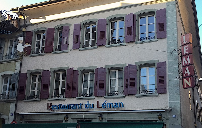 Restaurant du Léman, Lutry