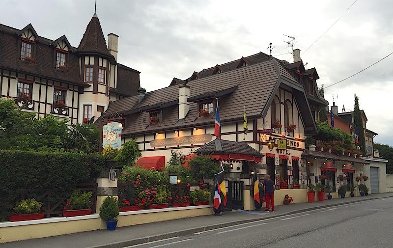 Hôtel-restaurant Les Cygnes, Evian