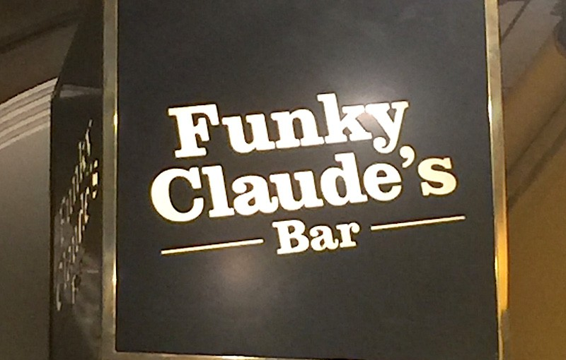 Funky Claude's bar, Montreux