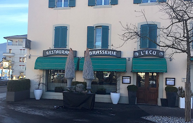 Restaurant-brasserie l'Ecu, Bulle