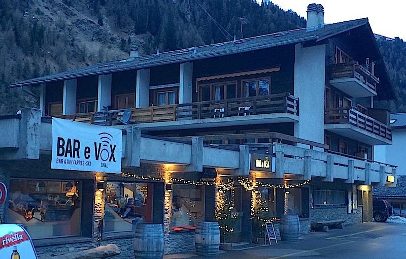 Bar E Vox, Zinal