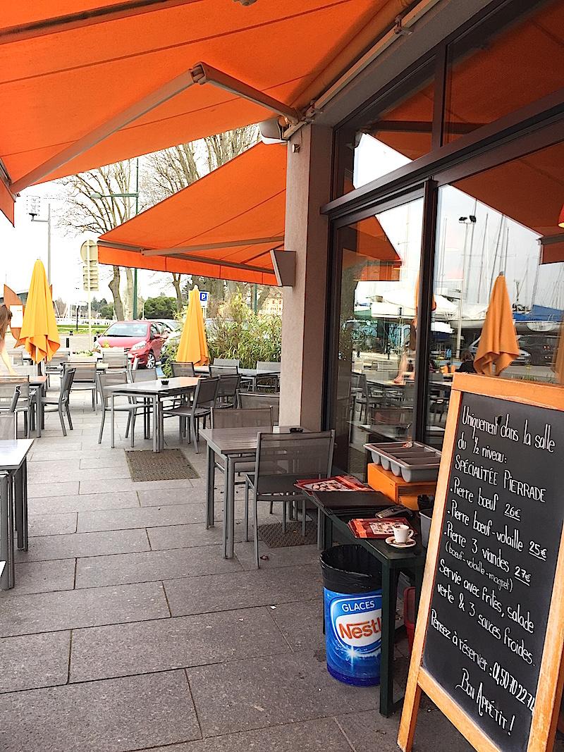 Restaurant le naviot thonon les grains de sel de babette - Restaurant port de thonon ...