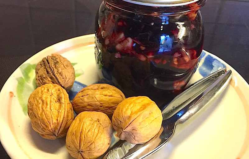 Confichut mirabelle-raisin-noix