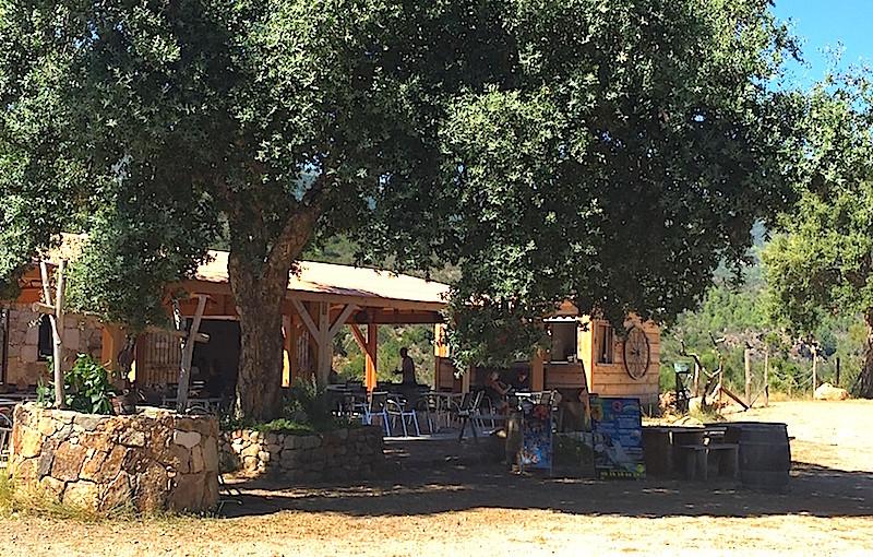 Restaurant l'Alba, Sari-Solenzara, Corse
