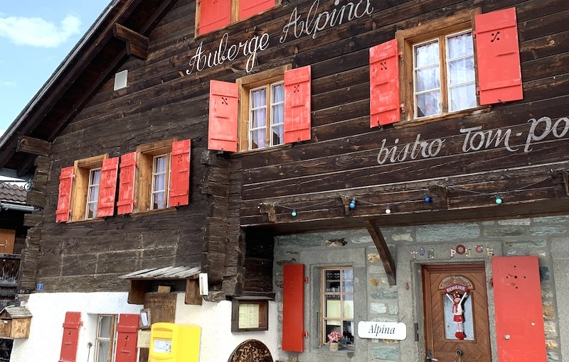 Auberge Alpina, Zinal