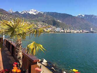 Montreux depuis Clarens