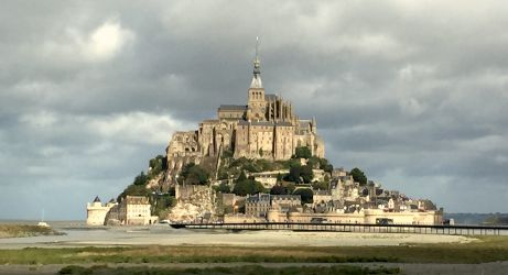 Le mont Saint-Michel…
