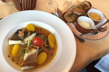 Soupe de poissons comme une bouillabaisse