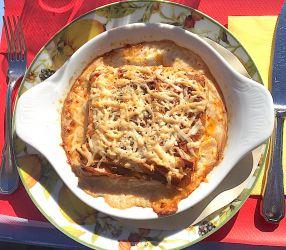 Lasagne au canard