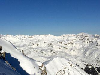 Beau décor pour le ski!