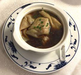 Potage aux wontons