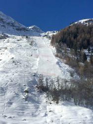 Piste de ski vertigineuse!