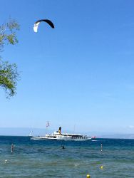 Kitesurf sur Léman