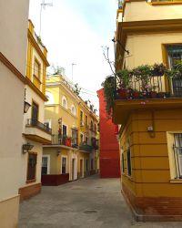 Ruelle à Séville