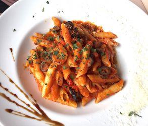 Spaghettis arrabiata
